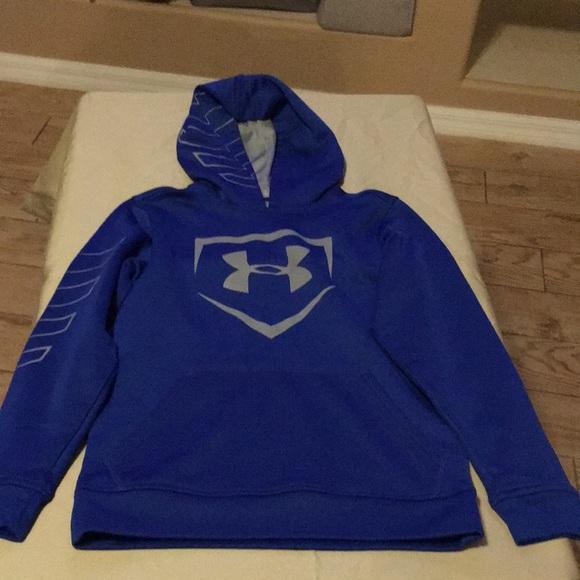 85efa3001851f Under Armour Jackets & Coats | Boys Baseball Hoodie Size Xs | Poshmark